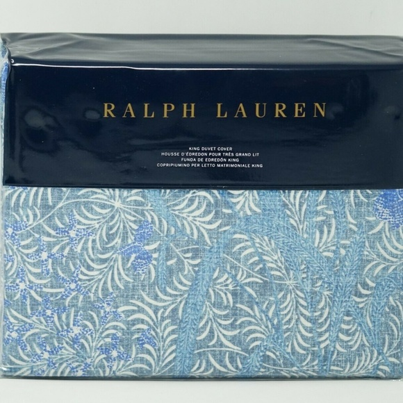Cotton Box Copripiumino.Ralph Lauren Bedding Meadow Lane Kaley Floral Cotton Duvet Cover